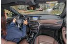 Infiniti QX30 2.2d, Cockpit, Fahrersicht