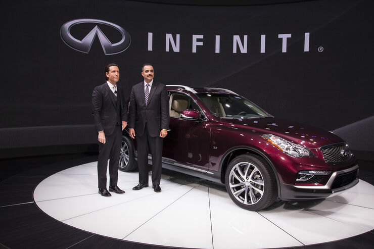 Infiniti QX50, Crossover, New York, 2016