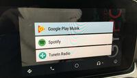 Infotainment, Android, Technik