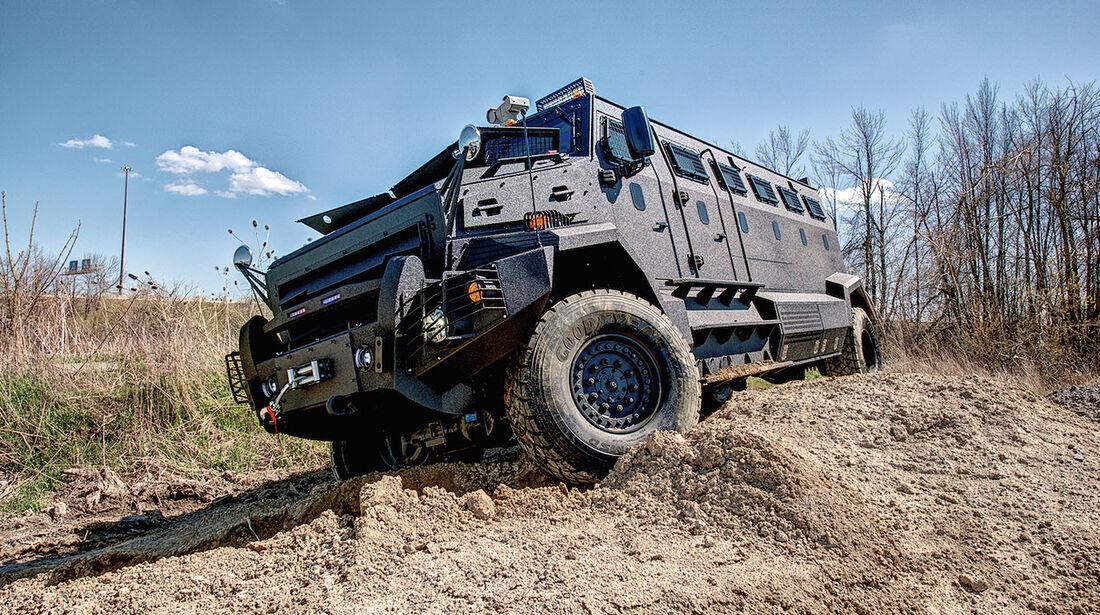 Inkas Huron APC gepanzerter Transporter