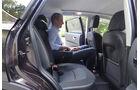 Innenraum-Check Nissan Qashqai, Rückbank, Fond