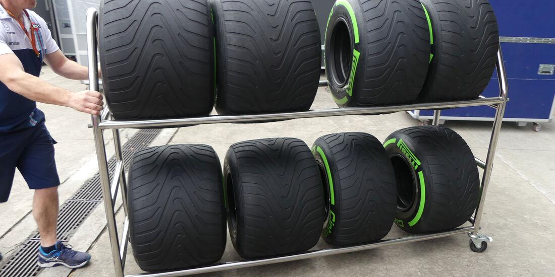 Intermediate - Pirelli - Formel 1 - GP China - Shanghai - 6.4.2017