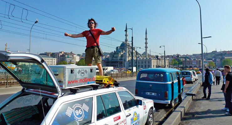 Istanbul, Galata-Brücke
