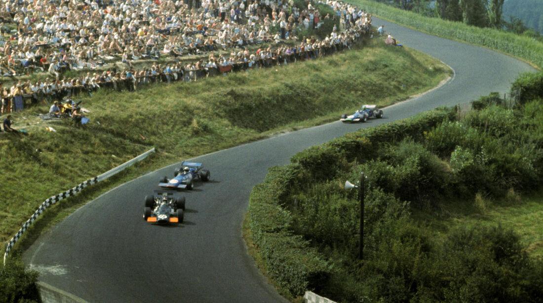 Jackie Oliver - BRM P138 - GP Deutschland 1969 - Nürburgring