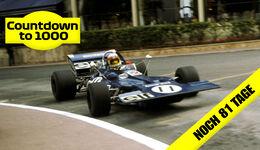 Jackie Stewart - GP Monaco 1971