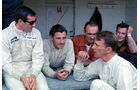 Jackie Stewart - Graham Hill - Dan Gurney