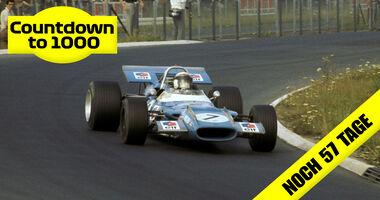 Jackie Stewart - Matra MS80 - GP Deutschland 1969 - Nürburgring