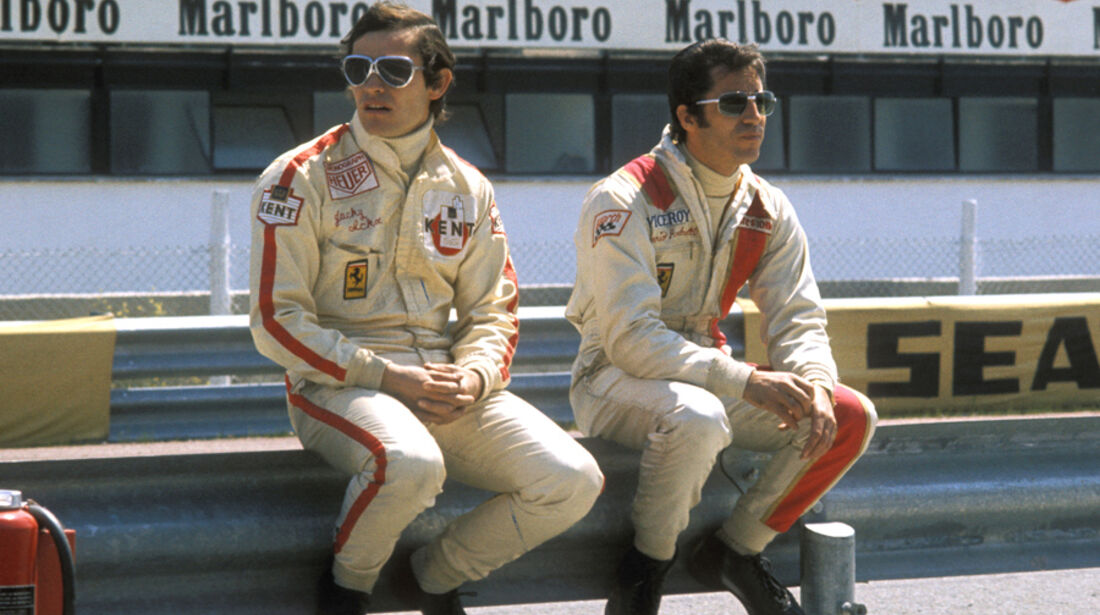 Jacky Ickx Mario Andretti Ferrari 1972