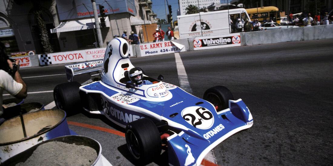 Jacques Laffite - Ligier JS5 - Long Beach 1976