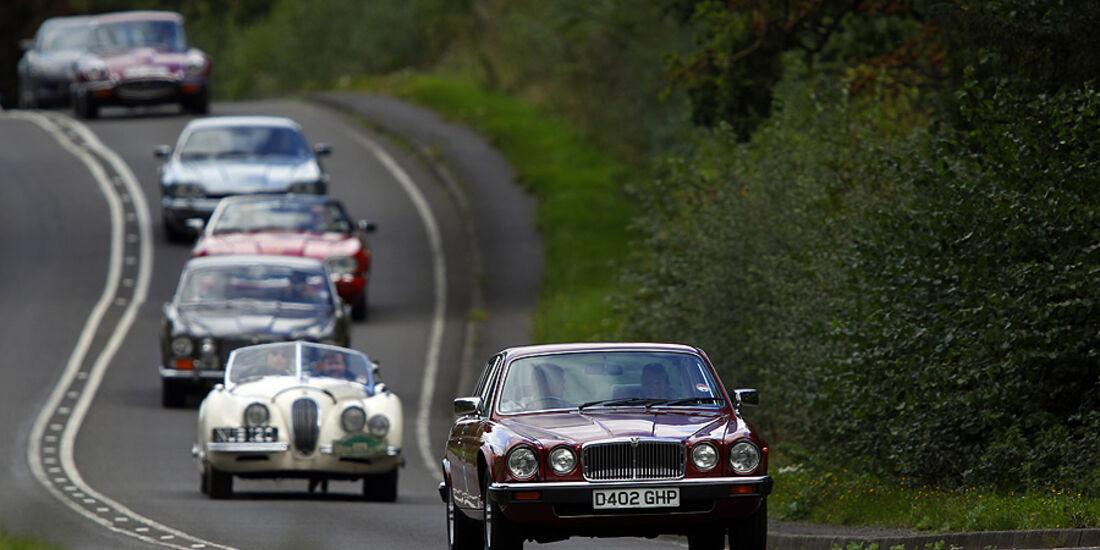 Jaguar Ausfahrt