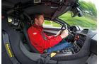 Jaguar C-X75, Cockpit, Fahrer