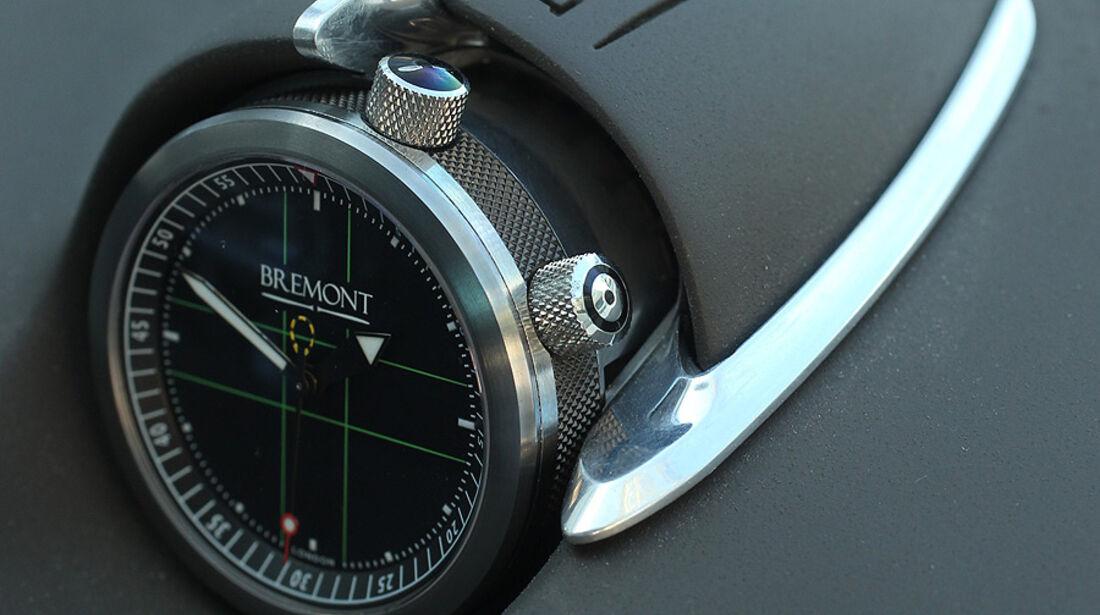 Jaguar C-X75 , Innenraum, Uhr