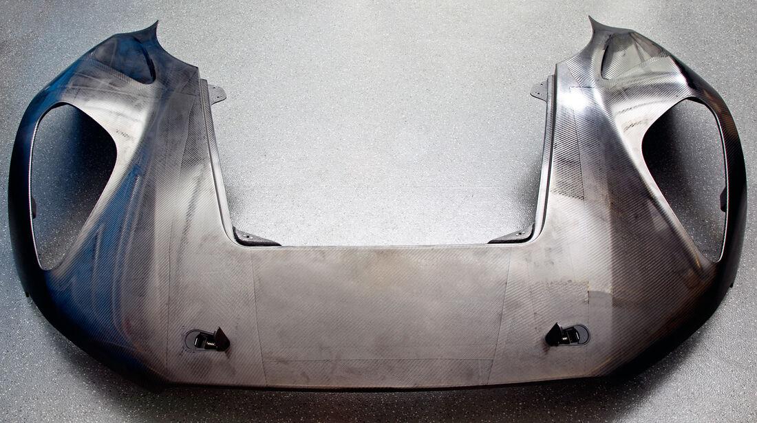 Jaguar C-X75, Karosserie, Leichtbau