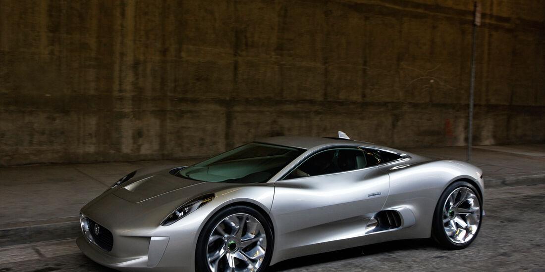 Jaguar C-X75, Seitenansicht