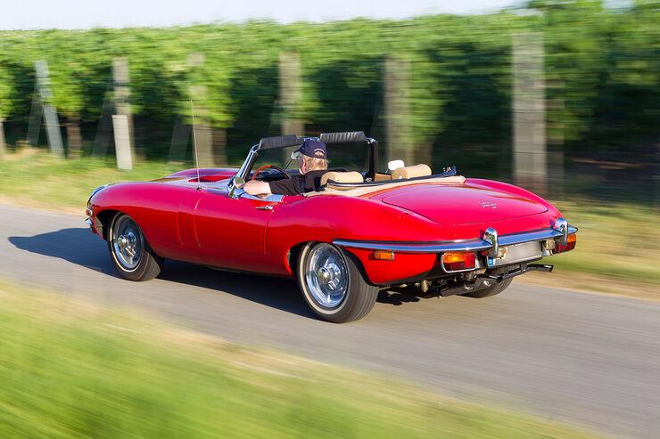 kaufberatung jaguar e type s2 roadster lange nase hohe preise auto motor und sport. Black Bedroom Furniture Sets. Home Design Ideas