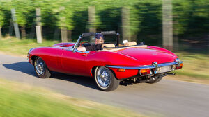 Jaguar E-Type 4.2 Serie 2, Baujahr 1969