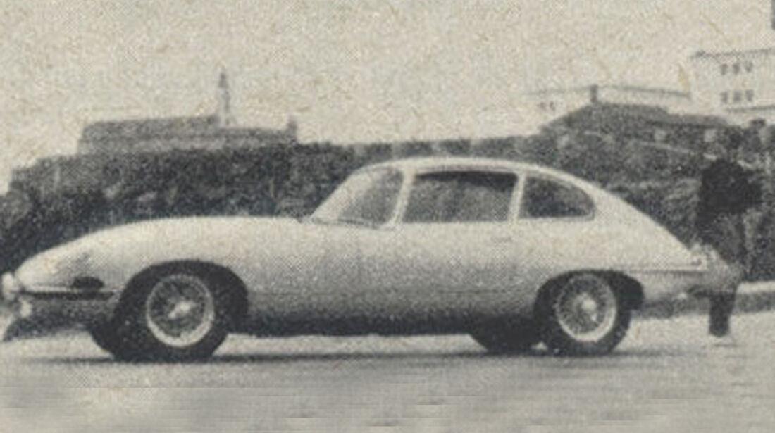 Jaguar, E-Type, IAA 1967