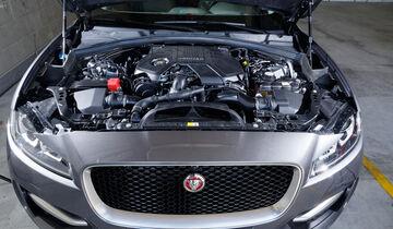 Jaguar F-Pace 30d AWD, Motor