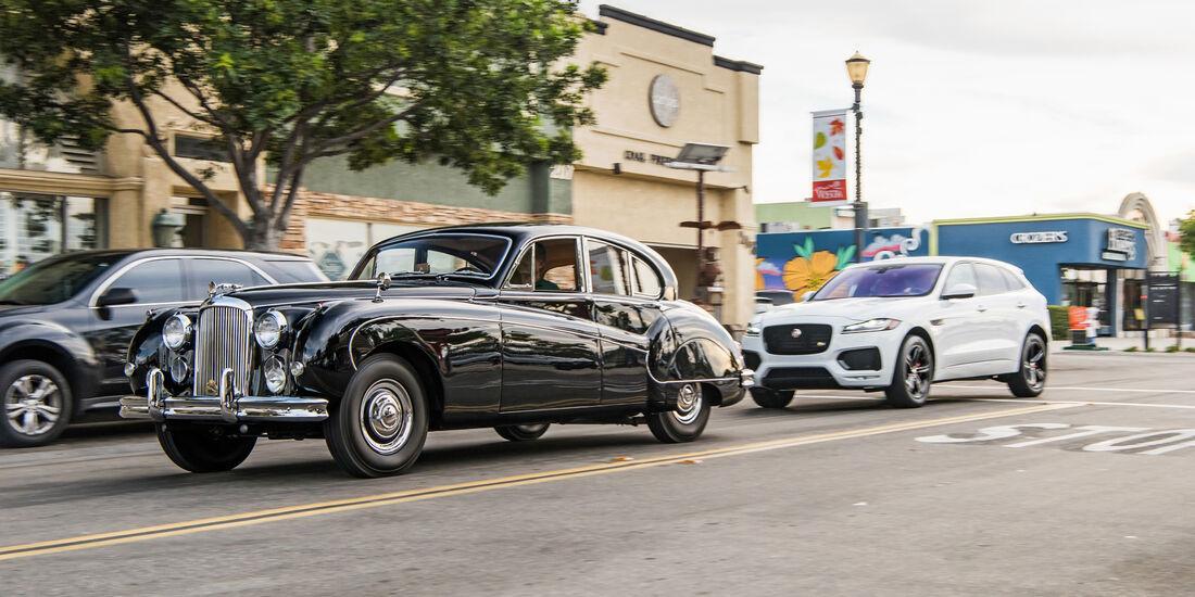 Jaguar F-Pace S, Mark IX, Seitenansicht