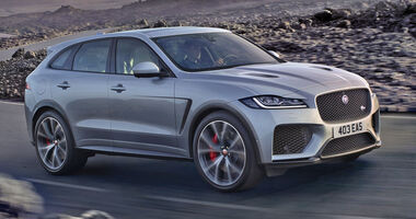 Jaguar F-Pace SVR Weltpremiere New York 2018