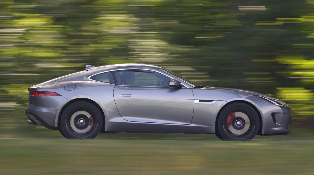 Jaguar F-Type 3.0 V6 Coupé, Seitenansicht