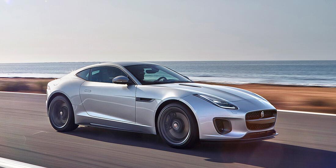 Jaguar F-Type Coupé P380 - Serie - Coupes bis 100000 Euro - sport auto Award 2019