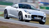 Jaguar F-Type, Frontansicht