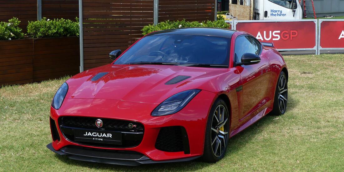 Jaguar F-Type - GP Australien 2018 - Melbourne - Albert Park - Mittwoch - 21.3.2018