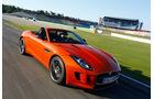 Jaguar F-Type S, Frontansicht