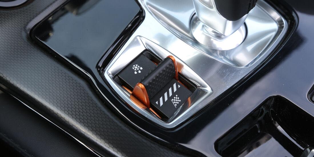 Jaguar F-Type V6 S, Bedienelement