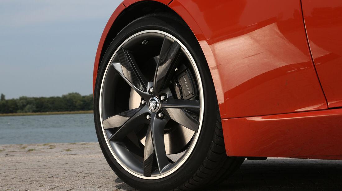 Jaguar F-Type V6 S, Rad, Felge, Bremse