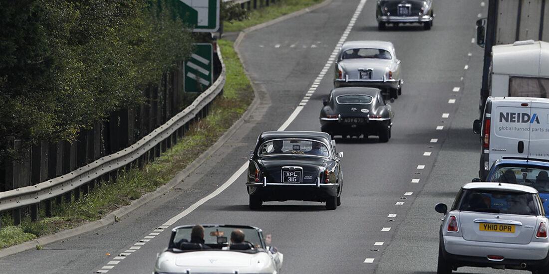 Jaguar Jubiläumsfahrt