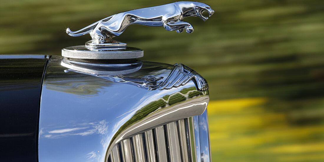 Jaguar Kühlerfigur
