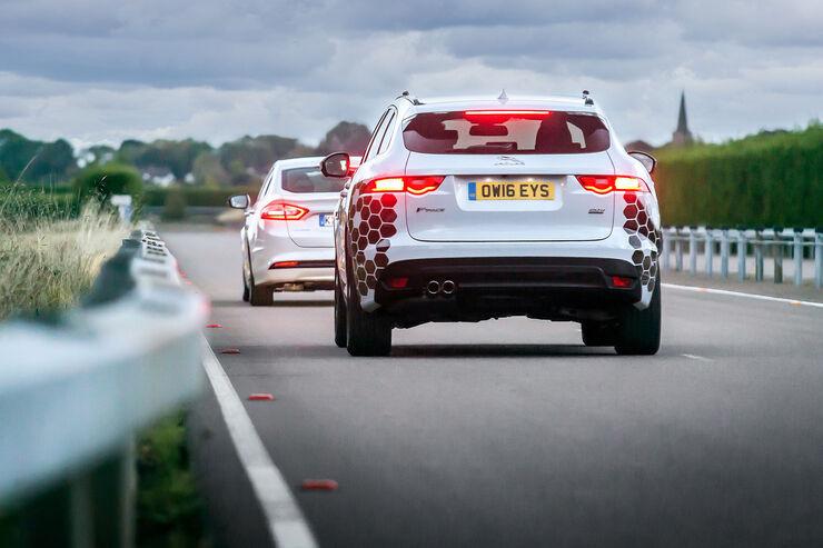 Jaguar Land Rover UK Autodrive autonomes Fahren