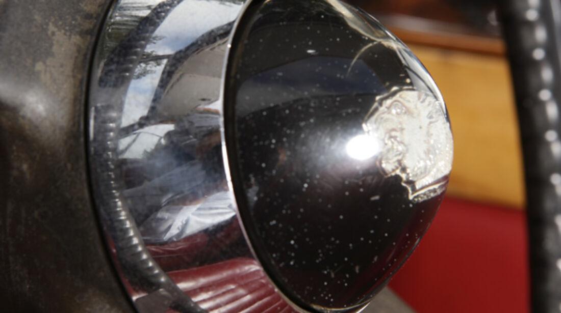 Jaguar Mark VII, Lenkradhupe