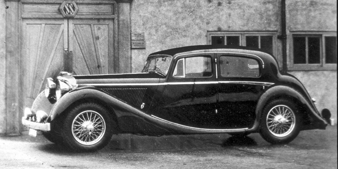 Jaguar SS Saloon 1936