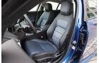 Jaguar XE 20d, Fahrersitz
