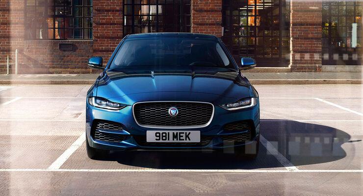 jaguar xe facelift: vorsichtig angefasst - auto motor und sport
