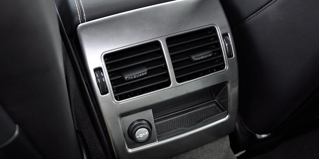 Jaguar XFR, Fond, belüftungsdüsen