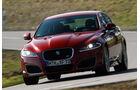Jaguar XFR, Frontansicht