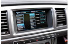 Jaguar XFR, Infotainmentsystem, Display
