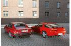 Jaguar XJ-S, Porsche 928 GT, Heckansicht