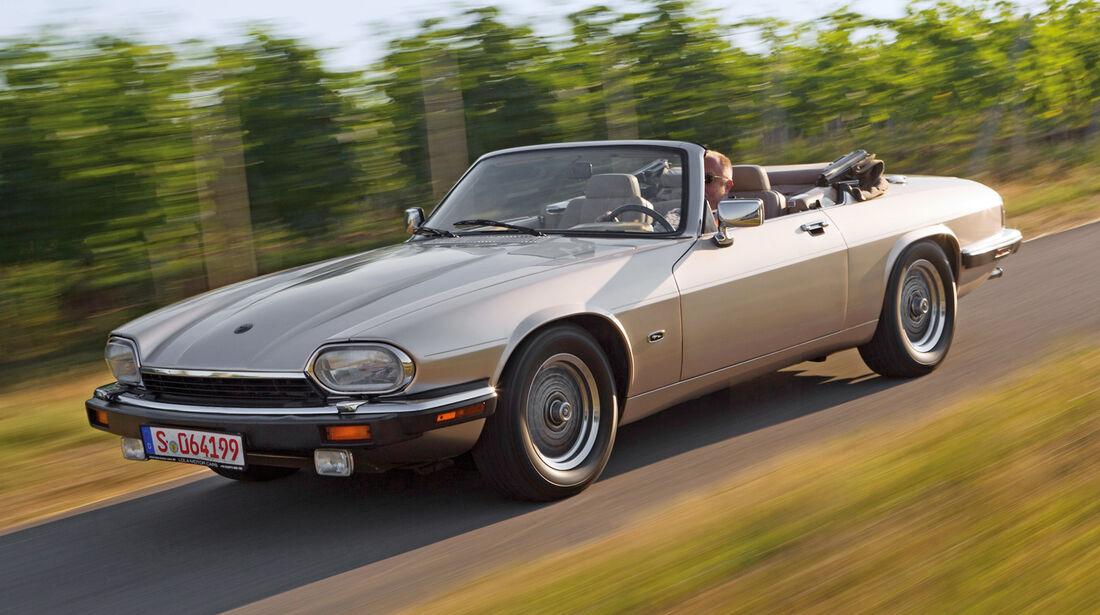 Jaguar XJ-S, Seitenansicht
