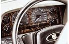 Jaguar XJ6, Lenkrad, Rundinstrumente