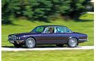 Jaguar XJ6, Seitenansicht