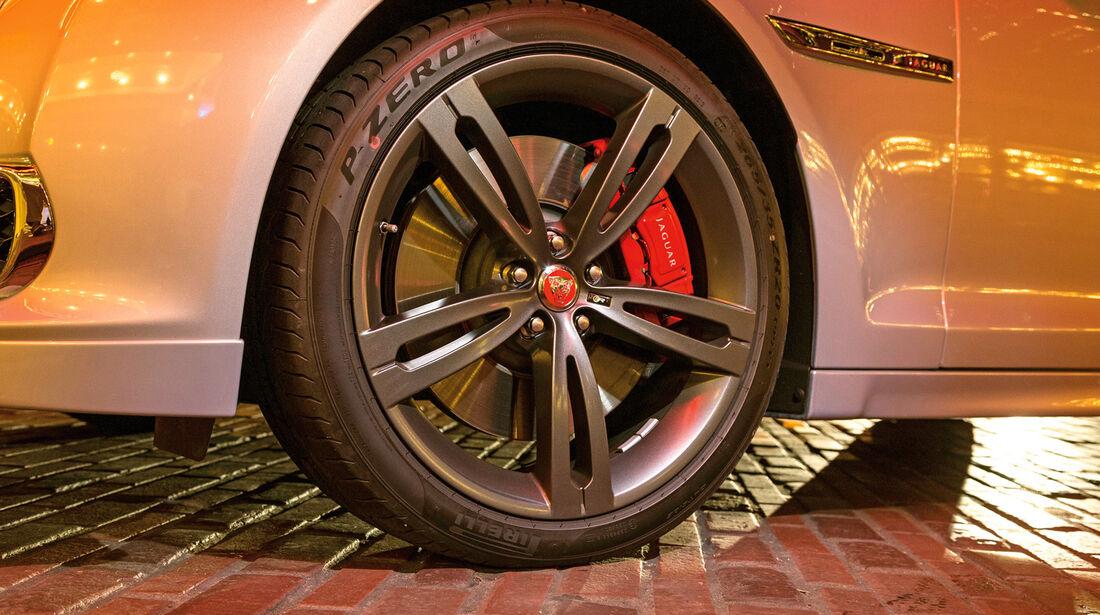 Jaguar XJR, Rad, Felge