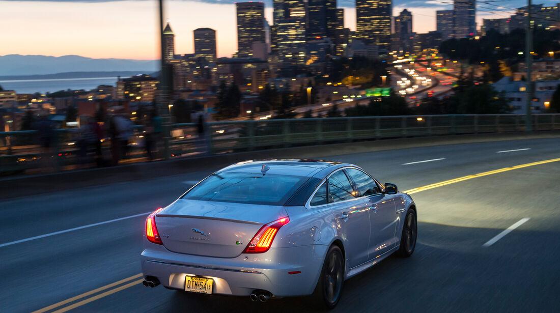 Jaguar XJR, Seattl, Heckansicht