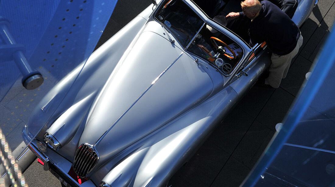 Jaguar XK von oben