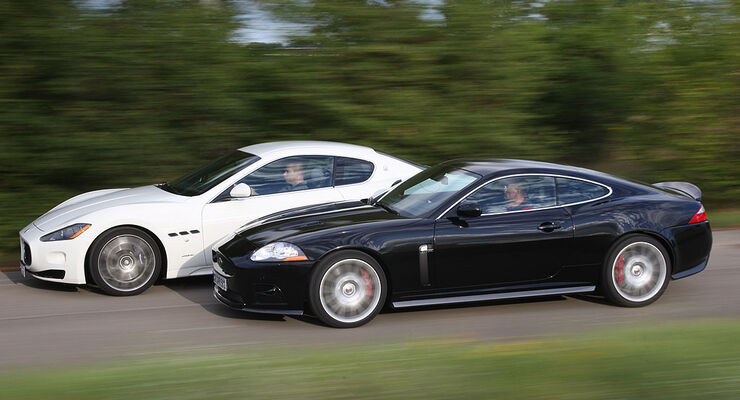 Jaguar XKR-S, Maserati Gran Turismo S, Heft 2608, 1208