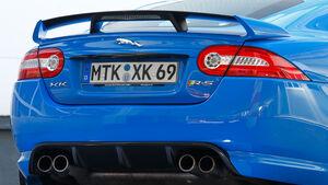 Jaguar XKR-S, Seitenansicht